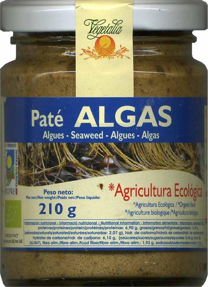 Paté vegetal de tofu y algas - Producte