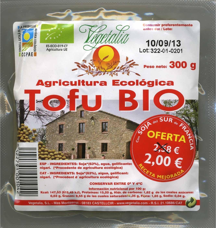 Tofu natural - Product - es