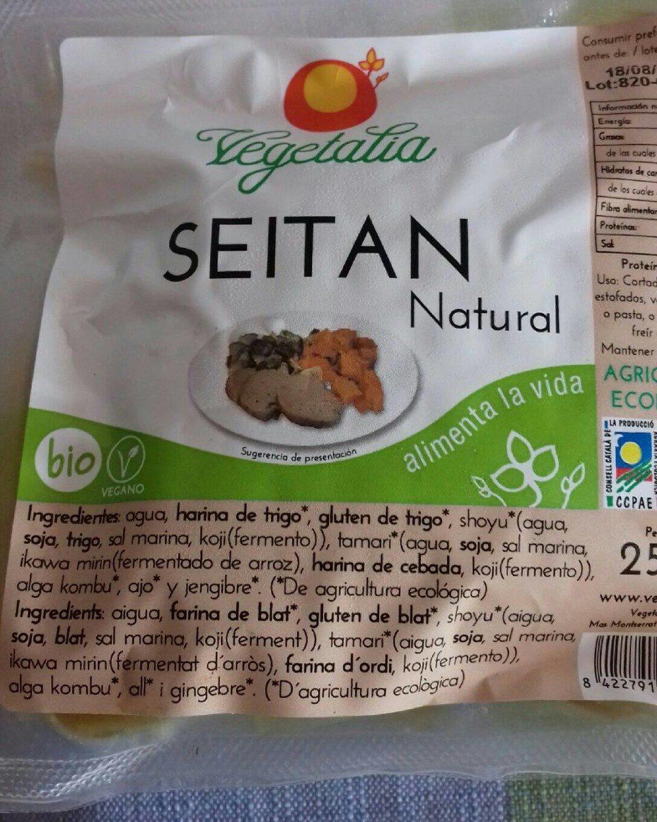 Seitán natural - Produit - es