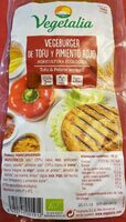 Vegeburger de Tofu y Pimiento rojo - Nutrition facts
