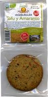 Hamburguesas vegetales Tofu y amaranto - Product - es