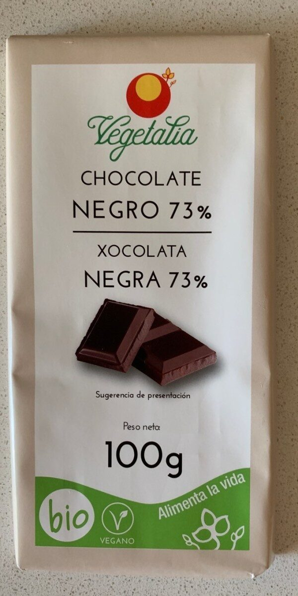 Chocolate Negro 73% - Product - es