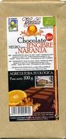 Chocolate negro jengibre y naranja - Product - es