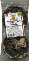 Tortitas de maíz con chocolate negro - Producte