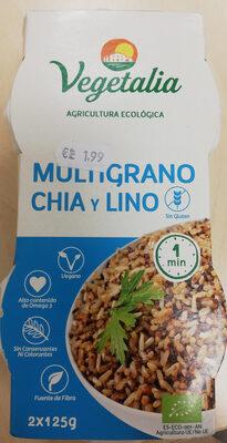Multigrano chía y lino - Produit - es