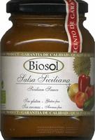 "Salsa siciliana ecológica ""Biosol"" - Producto"