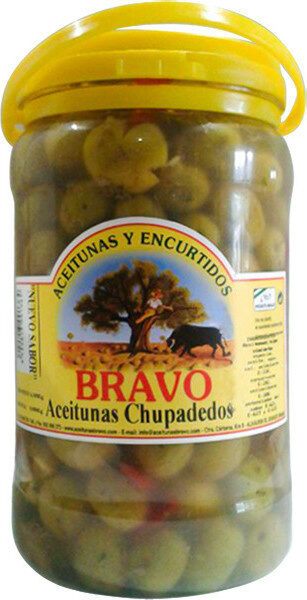 Aceitunas chupadedos tarro - Producte - es