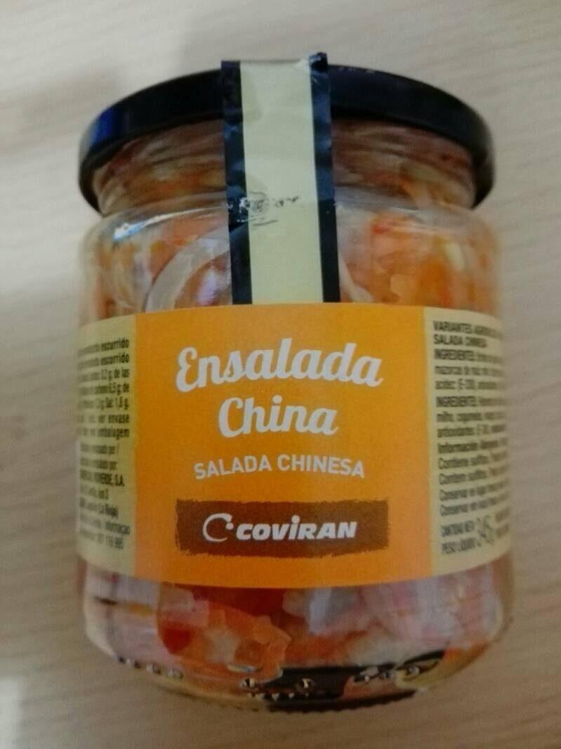 Ensalada China - Nutrition facts - es
