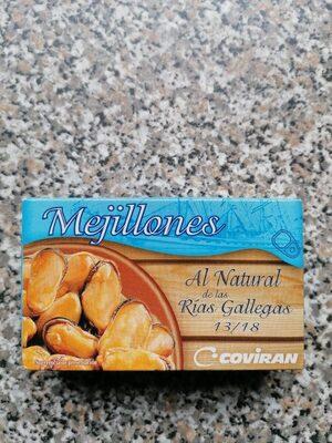 Mejillones al natural - Produit - es