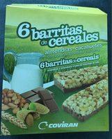 6 barritas de cereales - Product - fr