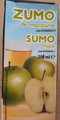 Jus de pomme (sumo de maca ) - Product - es