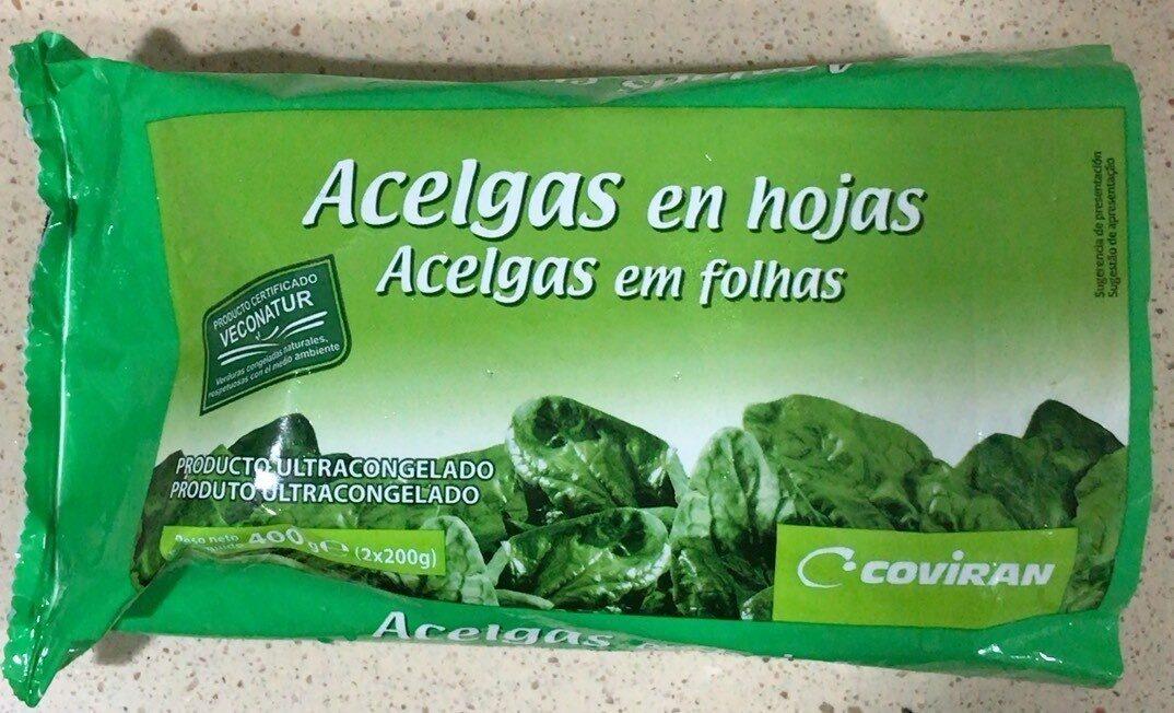 Acelgas en hojas - Product - es
