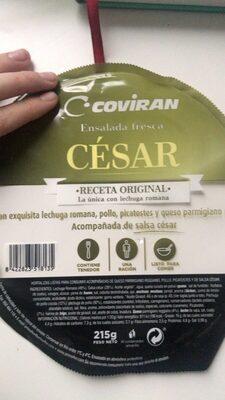 Ensalada cesar - Prodotto - es