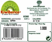 Kiwi - Ingrédients - es