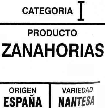 Carottes 1 kg - Ingredients - es