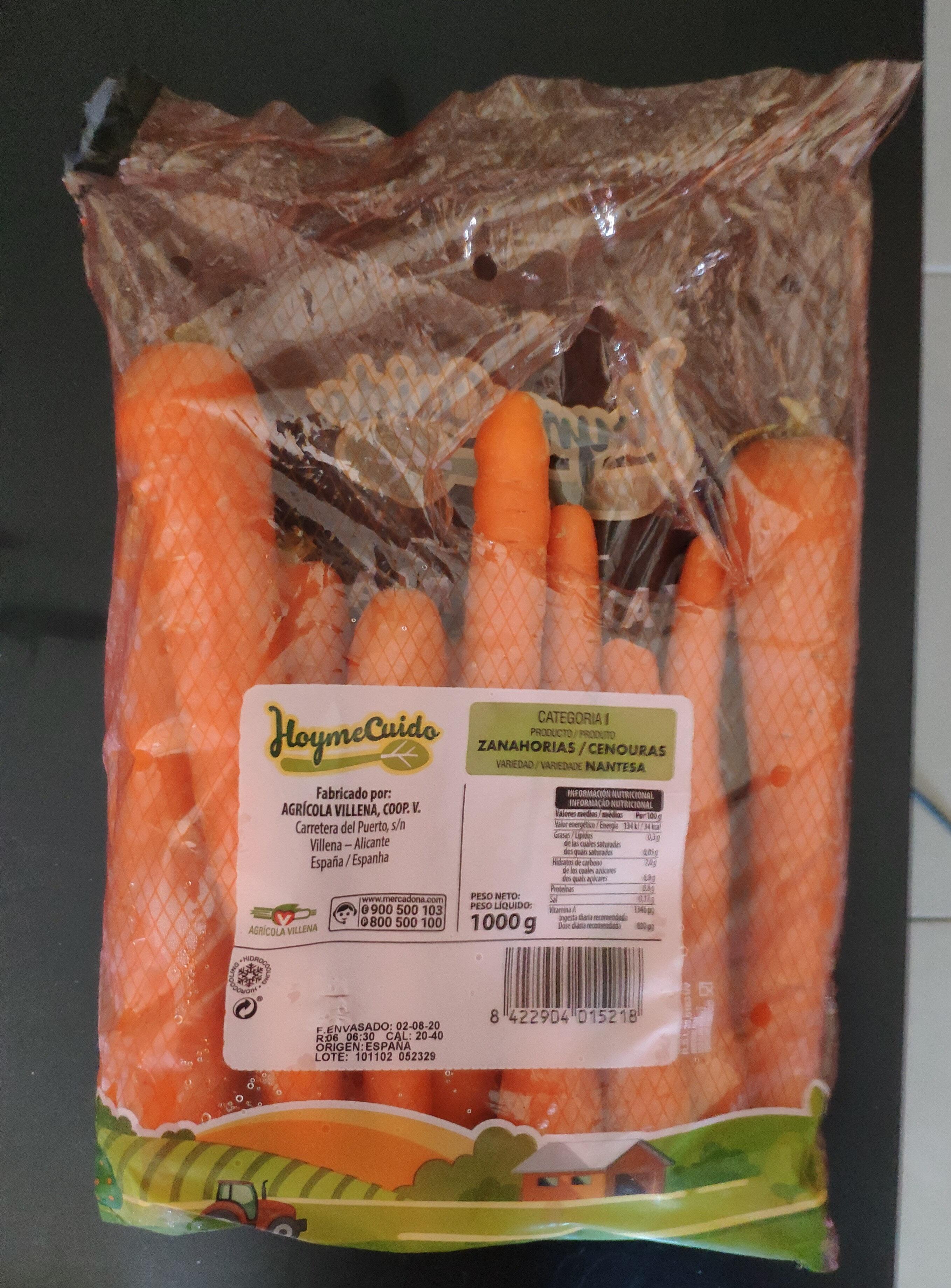 Zanahorias - Producte - es