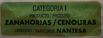 Zanahorias - Ingredients - es