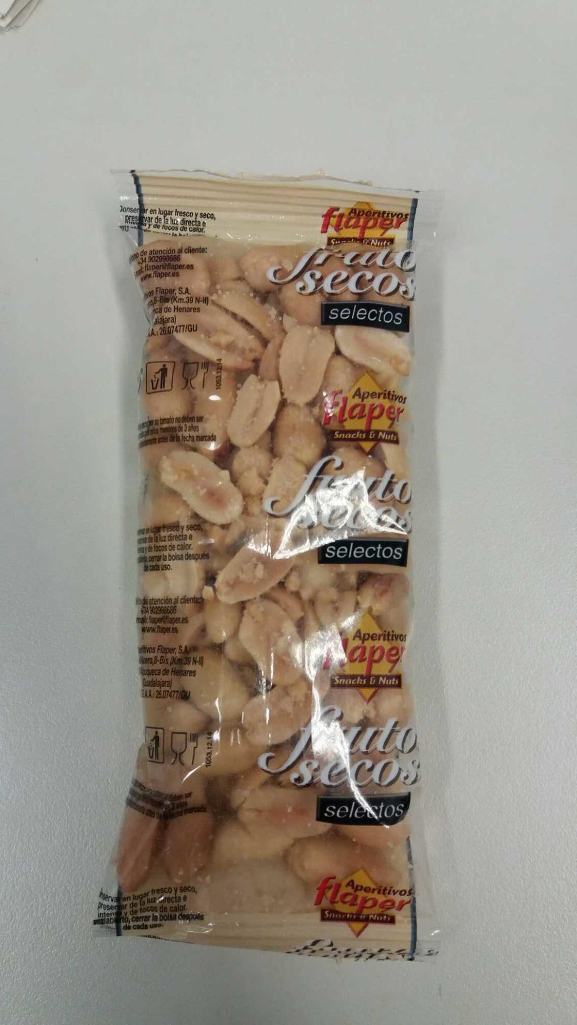 Cacahuete repelado frito - Producto - es