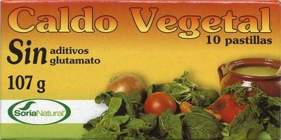 Caldo vegetal sin glutamato - Producte