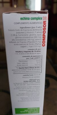 Composor08 - Nutrition facts