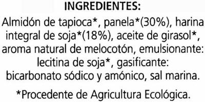 Galletas de soja sin gluten - Ingredientes