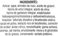 Plum cake sin gluten - Ingredients