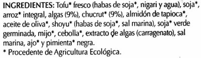 Hamburguesas vegetales Algas y chucrut - 8