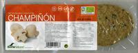 Hamburguesas vegetales Champiñón - Producto