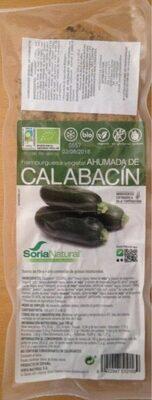 Hamburguesa vegetal ahumada de calabacín - Producto