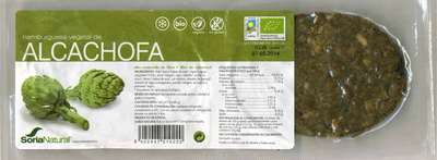 Hamburguesa vegetal de alcachofa - Produit
