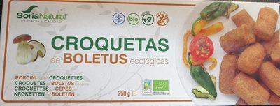 Croquetas de boletus ecológicas - Produit - es