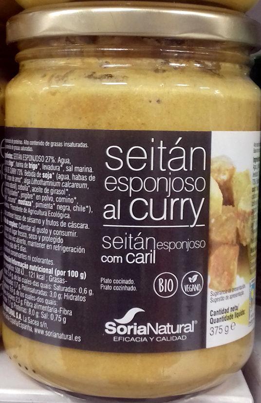 Seitán esponjoso al curry ecológico - Producte - es