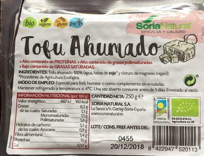 Tofu Ahumado - Producto