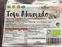 Tofu Ahumado - Produit