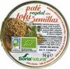Paté vegetal con tofu y semillas - Producto
