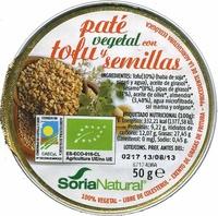 Paté vegetal con tofu y semillas - Product - es
