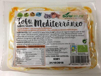 Tofu Mediterráneo - Producto - es