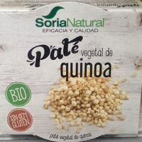 Paté vegetal de quinoa - Producto