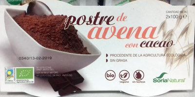Postre de avena con cacao - Product