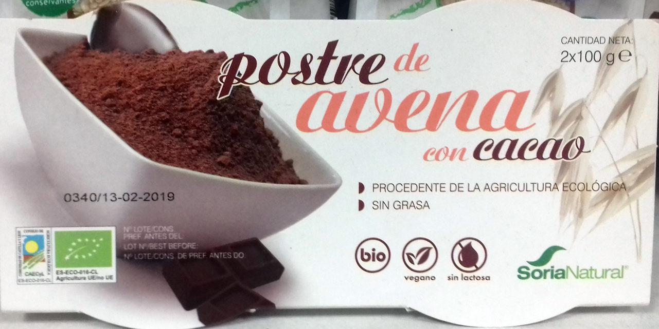 Postre de Avena con Cacao - Product - es