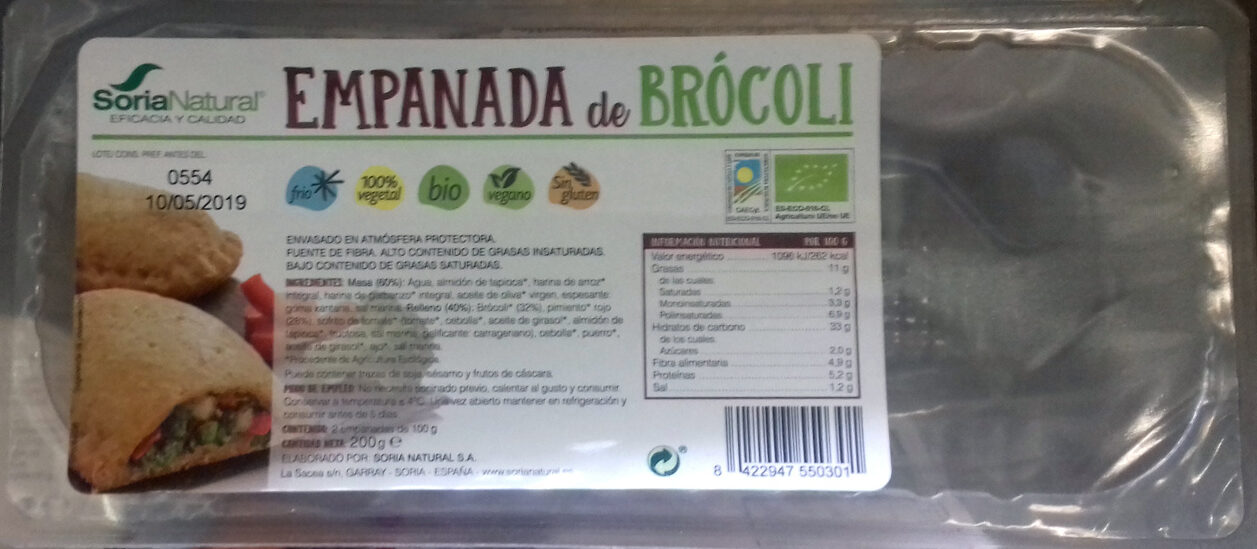 Empanada de Brocoli - Producto - es