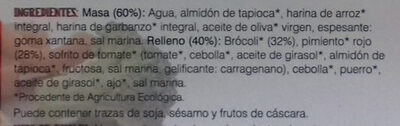 Empanada de Brocoli - Ingrédients - es