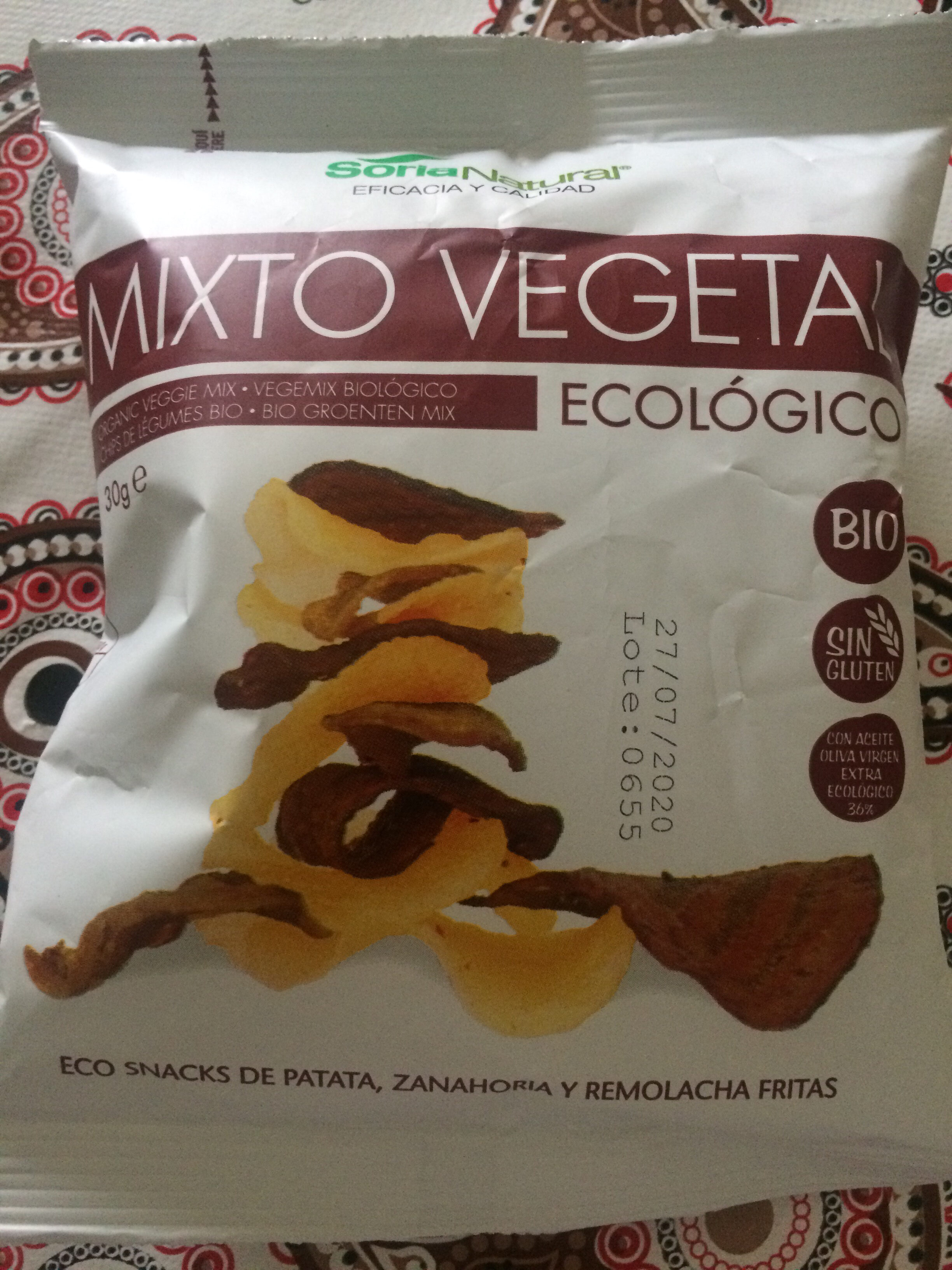 Chips vegetales - Product - es