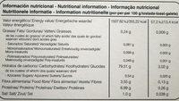 Tostadas ligeras de arroz integral y castaña - Información nutricional - es