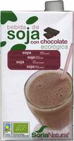 """Bebida de soja ecológica """"Soria Natural"""" con chocolate - Producto"""