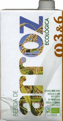 Bebida de arroz ecológica