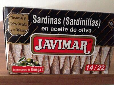 Sardinas en aceite de oliva - Producte - es