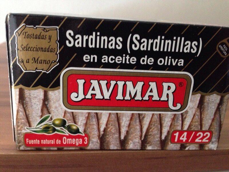 Sardinas en aceite de oliva - Produit