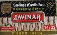 Sardinillas en aceite de oliva virgen extra - Producte - es