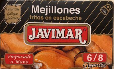 Mejillones fritos en escabeche - Producte